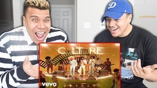 REACTING TO Migos - Walk It Talk It ft. Drake (Official Music Video)