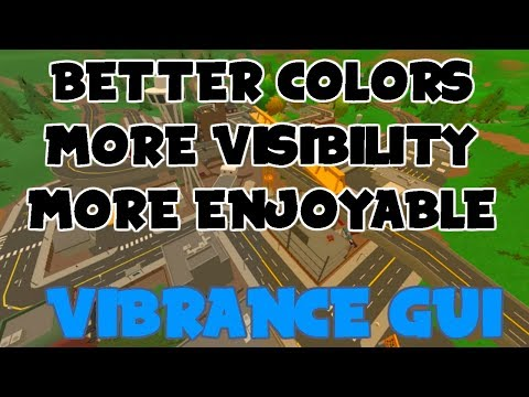 Better Colors in Unturned!!!! (Vibrance GUI)