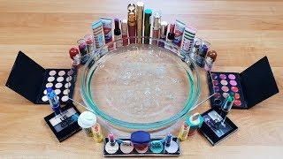 Slime Transparent mélangé avec du maquillage - Super Satisfaisante Video!!