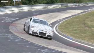 2018 Toyota Supra Spied Testing On The Nurburgring