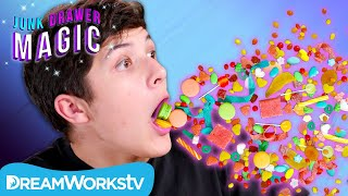 Vomiting Candy Trick | JUNK DRAWER MAGIC