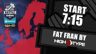 Ekantor.pl Battle of Europe vol.2 / WOD1: fat fran