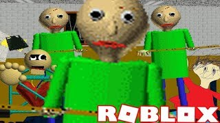 ROBLOX: Baldi's Basics Multiplayer | Collecting the Notebooks