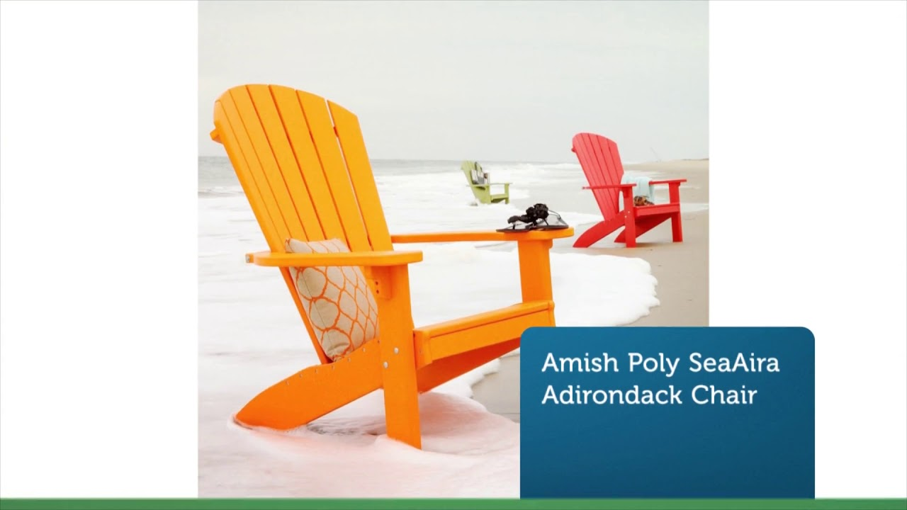 Adirondack Chair Polywood | Premium Poly Patios :  (877-904-1234)