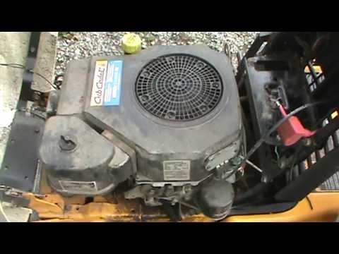 Cub Cadet Zero Turn Mower Wiring Diagram Mtd 18 Hp Kohler Command Engine Coil Repair Youtube