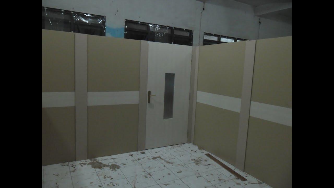Partisi Tripleks HPL  Custom Furniture Semarang