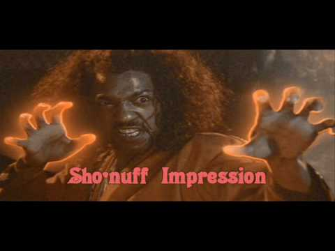 Busta Rhymes Does  Sho'nuff Impression