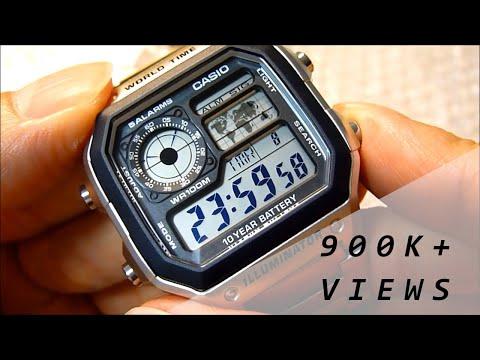 50f08b6993f Casio AE-1200 WHD-1AVEF World Time Watch