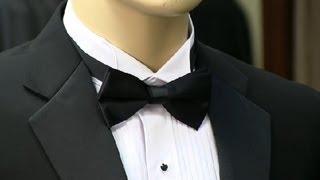 Do You Tuck a Bow Tie Under a Tuxedo Collar? : Men