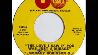 """The Love I Saw In You Was Just A Mirage -In The Style Of """"The Miracles"""" -Sung By The Oldies Singer21"""