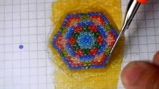 Урок №1 Бисерная мозаика Плошмя