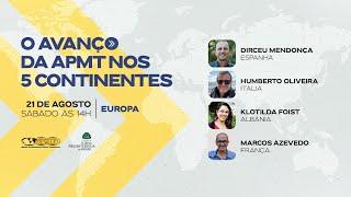 O Avanço da APMT nos 5 Continentes | Europa