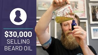 DIY Beard Oil to Family Owned Business: This Veteran Made $30K Selling Homemade Beard Care Products