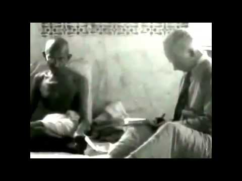 Mahatma Gandhi First Television Interview 30 April 1931