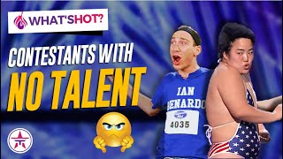 Top 10 Contestants With NO TALENT At All!