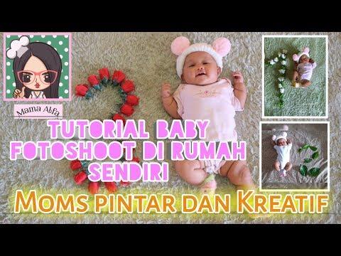 Tips foto bayi di rumah - baby fotoshoot