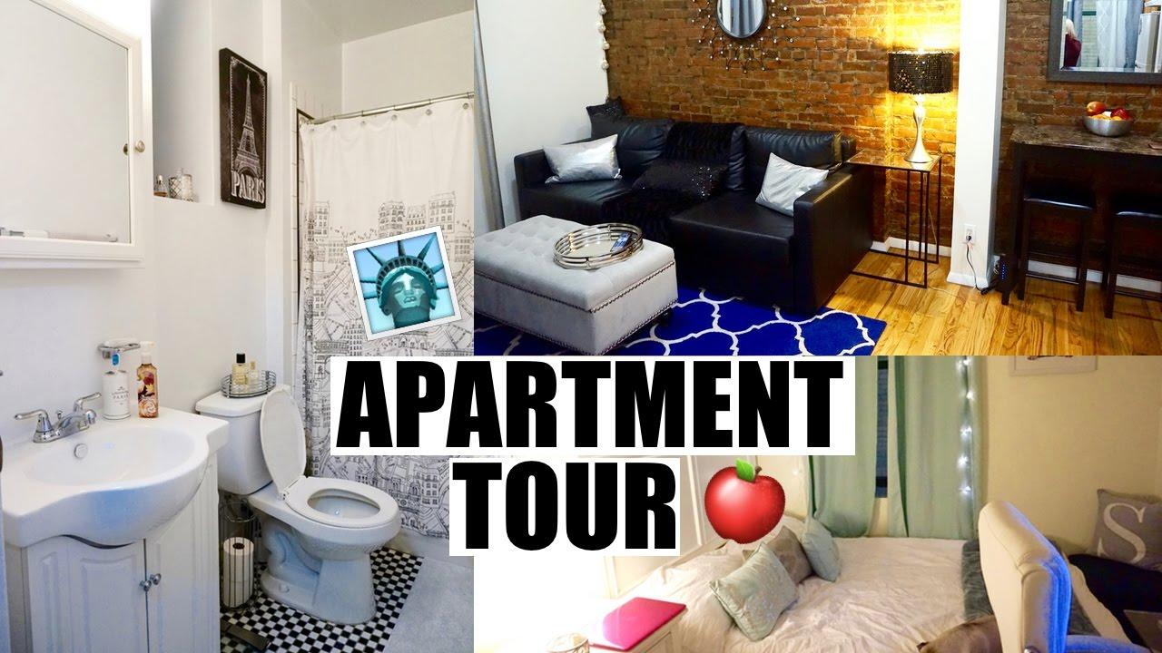 NYC One Bedroom Apartment Tour!   YouTube