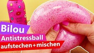 Bilou Antistressball aufstechen & mischen | Glibbi & Wasserperlen |  DIY Fun Idee