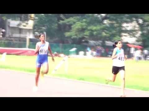 Jerin Joseph Won 400 meter Gold - Junior Women Under 20