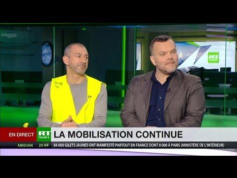 «Les Gilets jaunes sont un mouvement international. Plus de 22 pays les soutiennent»