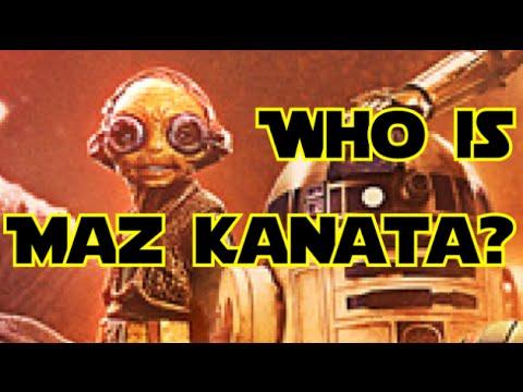 Who is Maz Kanata? - TFA Character Profiles