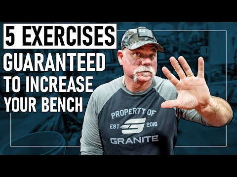 *5* Exercises GUARANTEED to Increase Your Bench Press