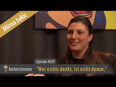 Mirna Jukic: Wer nichts denkt, ist nicht dumm   PODCAST   Hinterzimmer #029