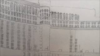 Bellagio Las Vegas Etch A Sketch Art- Under Construction
