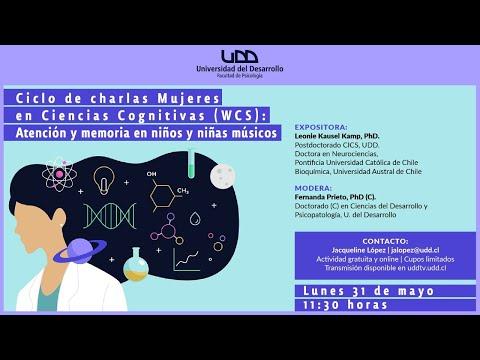 Ciclo de charlas Mujeres en Ciencias Cognitivas (WCS): Atención y memoria en niños y niñas músicos