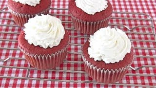 Red Velvet Cupcakes レッド ベルベット カップケーキ - OCHIKERON - CREATE EAT HAPPY