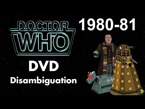 Doctor Who DVD Disambiguation - Season 18 (1980-81)