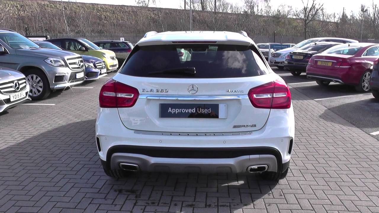 Mercedes Benz Gla Class Gla 250 4matic Amg Line 5dr Auto