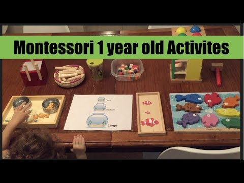 Montessori Inspired Activities For Toddlers Ages 1 3 July