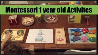 Montessori Inspired Activities for toddlers ages 1-3 July 2017
