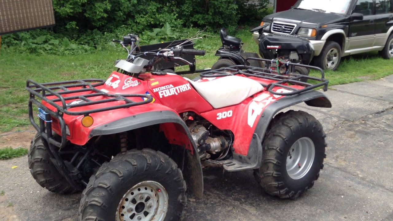 1992 Honda Fourtrax 300 Pictures To Pin On Pinterest