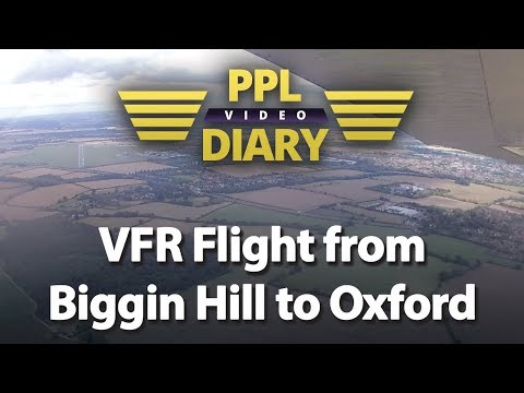 VFR flight from Biggin Hill to Oxford