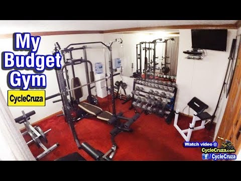 tour of my new home gym on a budget  why bikers need to