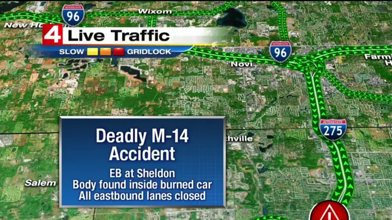 One dead in fatal rollover crash on Eastbound M-14