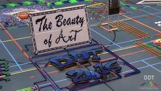DDT 2016 - The Beauty of Art - 127.300 dominoes - Falldown