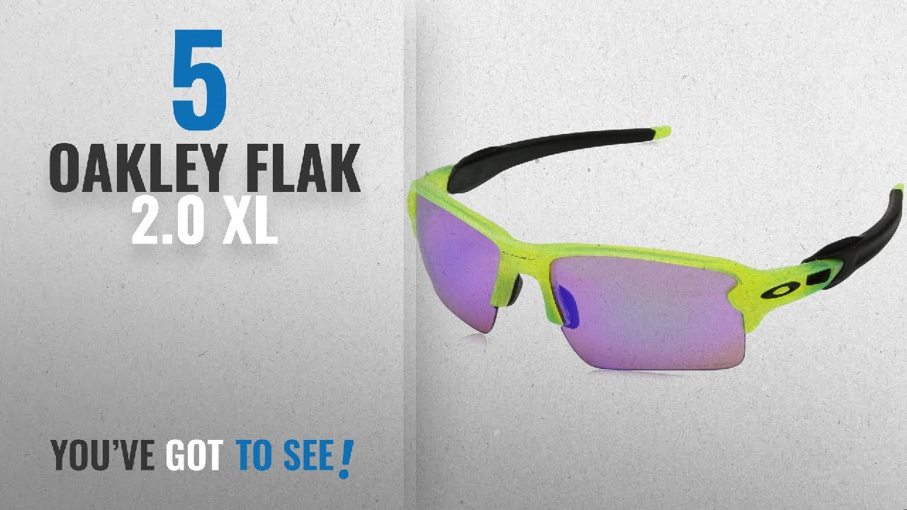 e7f3d26a4e Top 10 Oakley Flak 2.0 Xl   Winter 2018    Oakley Men s Flak 2.0 XL OO9188-11  Rectangular