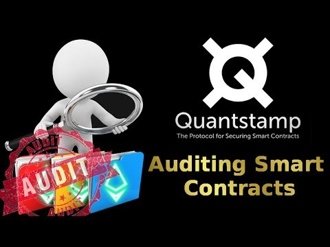QUANTSTAMP REVIEW: Auditing Smart Contracts (+ price prediction)