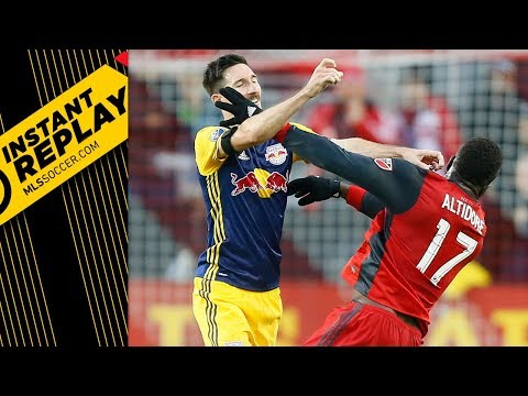 USMNT players get heated in Conference Semifinals