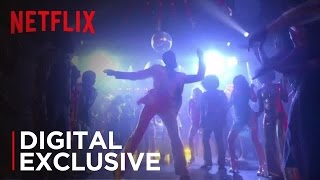 Digital Exclusive | 'The Get Down' Dances to 'Unbreakable Kimmy Schmidt'  [HD] | Netflix