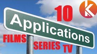 10 applications gratuites pour regarder des films, séries, chaines TV, Anime Japonais etc