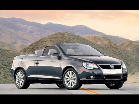 2017 volkswagen eos convertible youtube. Black Bedroom Furniture Sets. Home Design Ideas