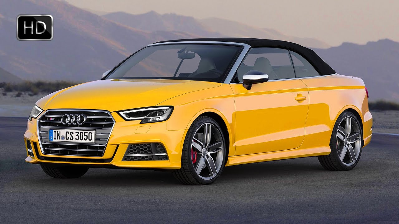 2017 audi s3 cabriolet facelift exterior interior design hd youtube. Black Bedroom Furniture Sets. Home Design Ideas