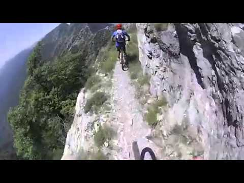Maritime Alps MTB insane trail