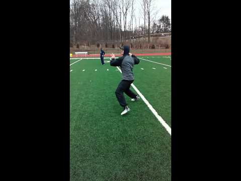 Denver Broncos Quarterback Trevor Siemian Training