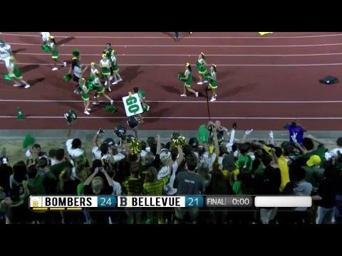 Bomber Varsity Football at Bellevue Livestream