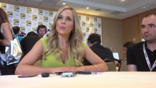 Julie Benz for Defiance at SDCC 2013! Thumbnail